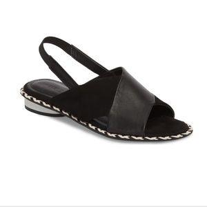 Kelsi Dagger Seline Cross Strap Sandal